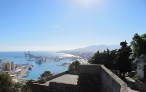 Malaga - view of the port 26-10-13