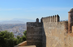 Malaga - from the alcazaba 26-10-10