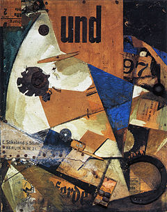 Das Undbild by Kurt Schwitters [photo Wikipedia]