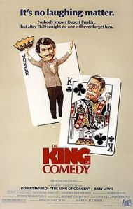 the King of comedy - poster 27-5-14