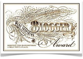 the very inspiring blogger award - logo 28-7-14