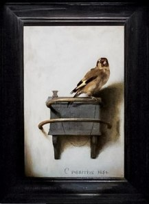 the goldfinch by Carel Fabritius 7-8-14