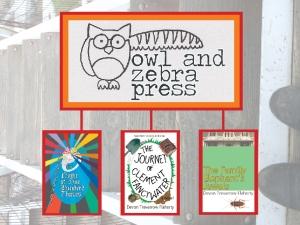 Owl and Zebra Press - the 3 books 23-10-14